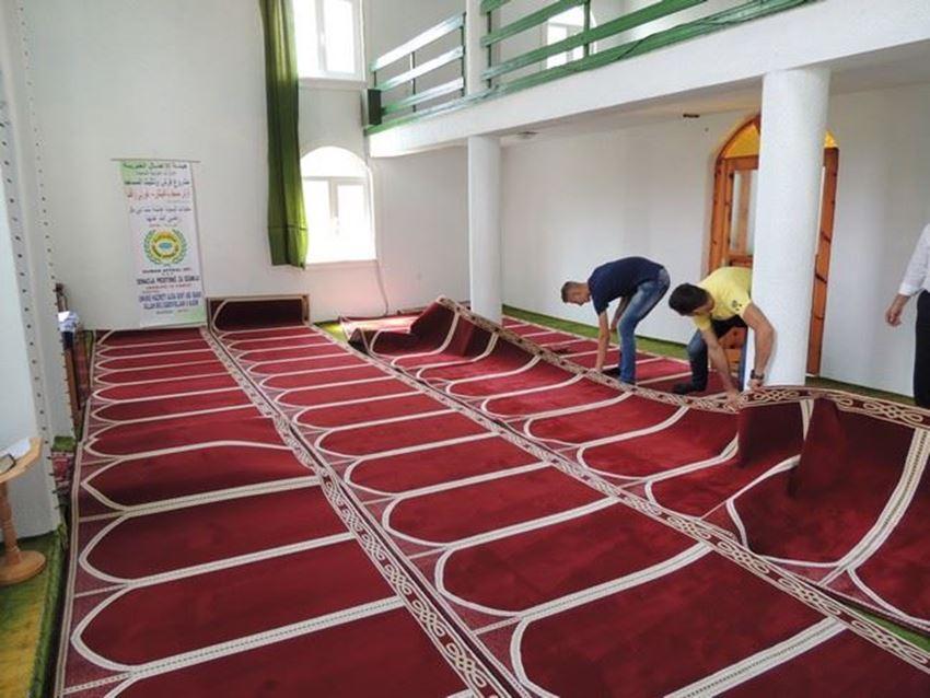 الصورة لفئة تجهيزات المساجد