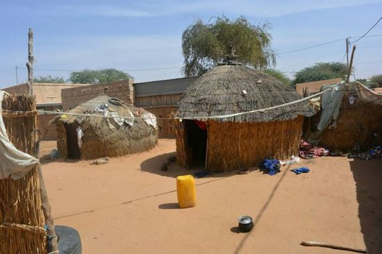 Picture of House construction in Niger