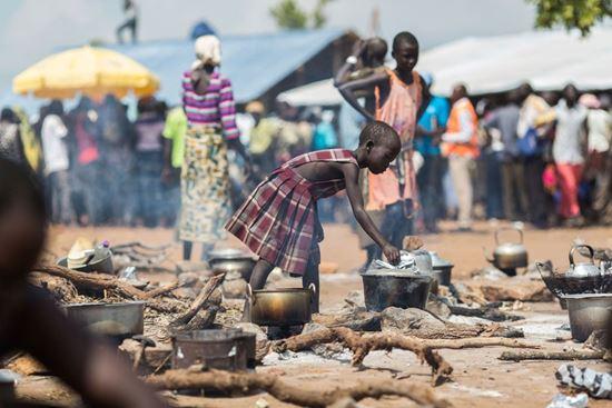 صورة تغذية اللاجئين في السودان - رقم المشروع: 3366/2019