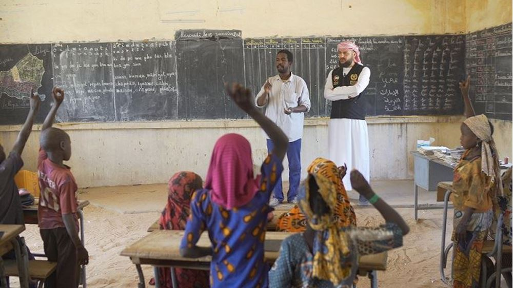 Picture of Building a school in Niger