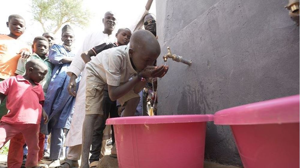 Picture of Well drilling in Niger