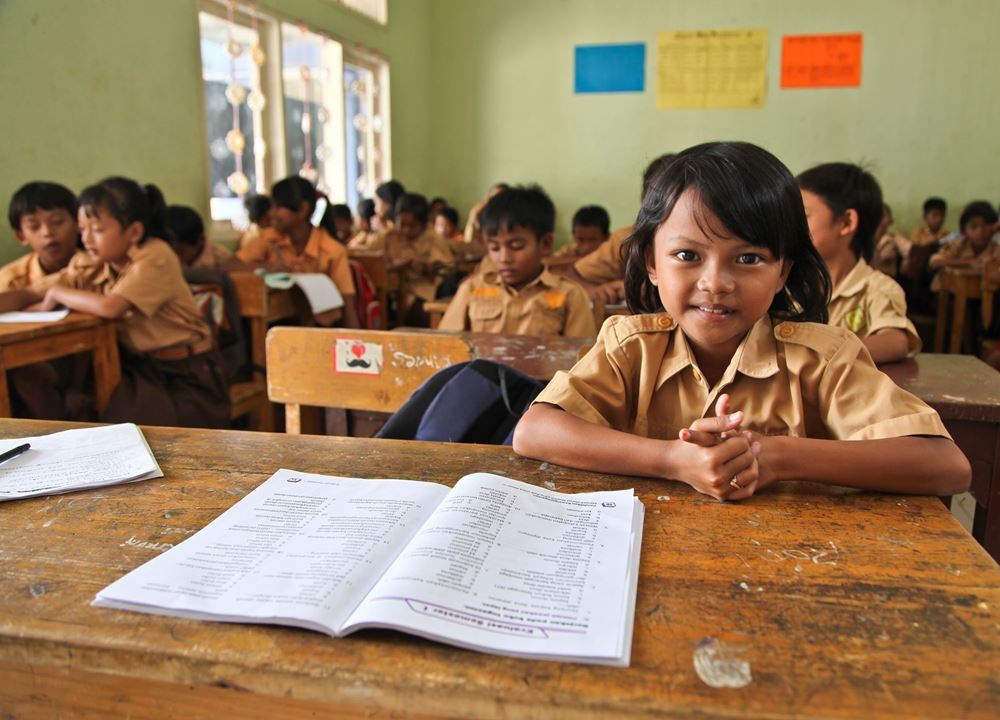 Picture of Building a classroom in Indonesia