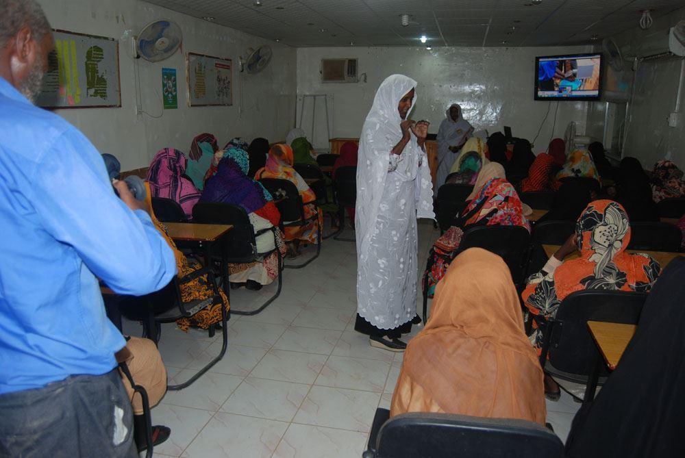 صورة تدريب الأمهات على مكافحة سوء التغذية -  6266/2021