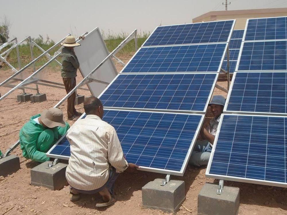 صورة تجهيز منزل بالمراوح + نظام طاقة شمسية - الخرطوم رقم المشروع  7830/2021