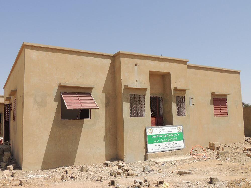 صورة بناء مركز للأمومة -السنغال