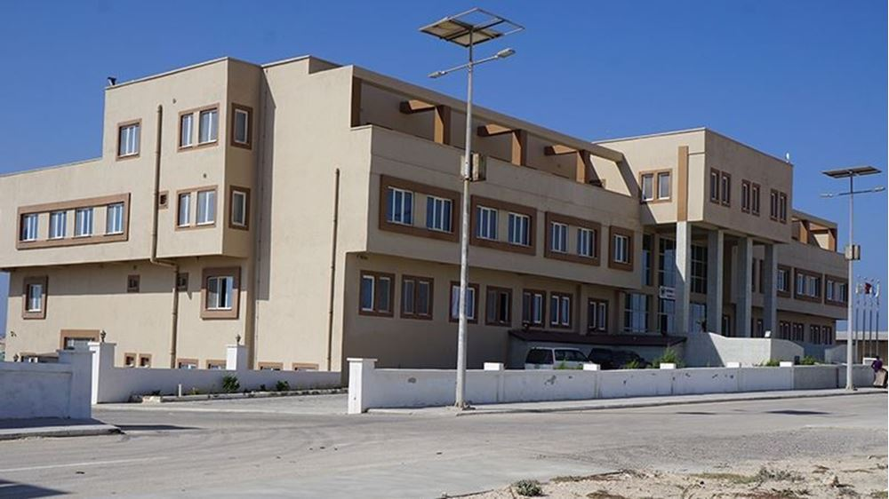صورة بناء مدينة الإمارات الطبية في السنغال